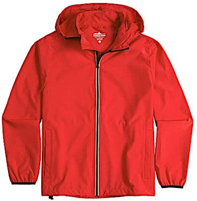 Charles River Pack-N-Go Hooded Packable Full Zip Jacket