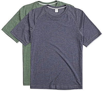 Sport-Tek Tri-Blend Short Sleeve Raglan Performance Shirt