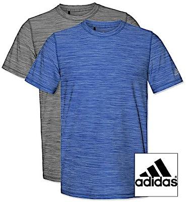 Adidas Tech Heathered Performance Shirt