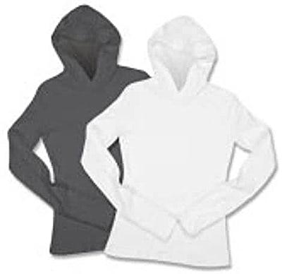 American Apparel Juniors Long Sleeve Hoodie