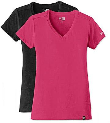 New Era Women's Heritage Blend V-Neck T-shirt