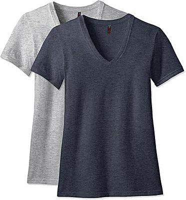 District Women's Perfect Blend V-Neck T-shirt