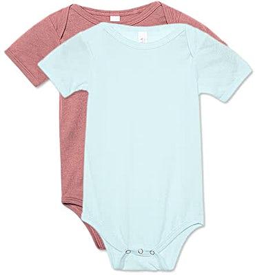 Bella + Canvas Tri-Blend Baby Bodysuit