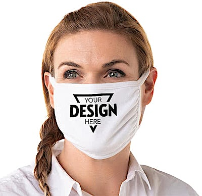 Customized Triple-ply Cotton Face Mask