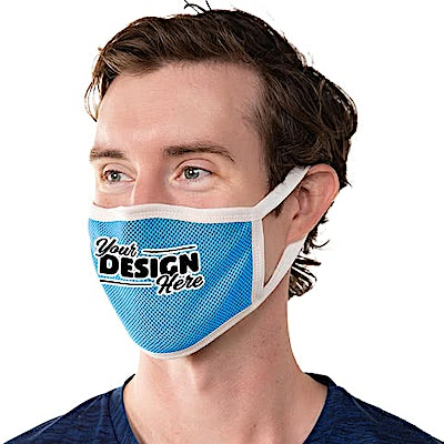 Customized Triple-ply Performance Face Mask