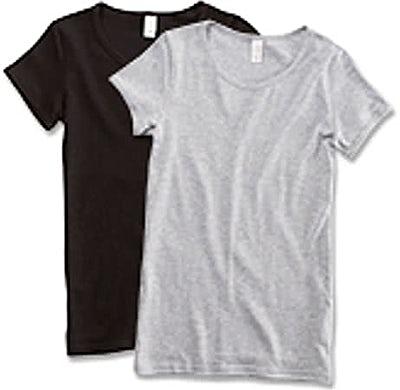 Anvil Ladies Scoop Neck T-shirt