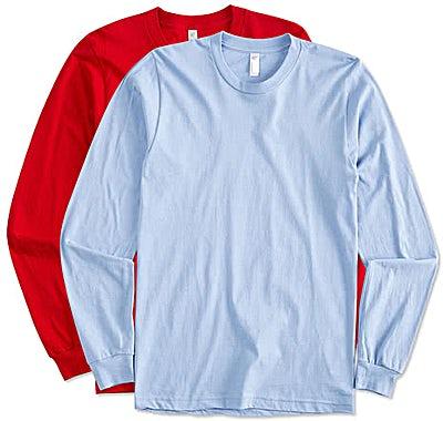 American Apparel USA-Made Long Sleeve T-shirt